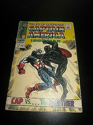 Tales of Suspense #98 - Kirby Colan 1st New Zemo Captain America Black Panther