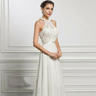 fa793b722dc US Womens Sleeveless Party Maxi Long Dress Ladies Formal Evening Prom Ball  Gown