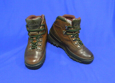 Cabela Boots Women Leather Goretex Cabelas Hiker S Size 6.5 B Brown Ankle  Rubber a59a1f68d08