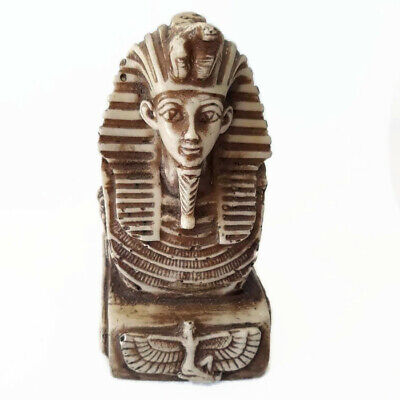 Statue Tutankhamun King Ancient Egyptian Antique Collection unique Home Decor