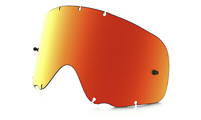 6d77ab19f03 Oakley Brand Crowbar MX Goggle Replacement Lens Fire Iridum or Dark Grey