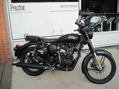 2018 Royal Enfield Bullet Classic Efi Abs Stealth..ex Demo With Very Low Miles