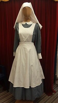 WW1 Style Nurse's Apron & Head-dress only