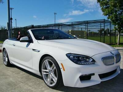 2015 6-Series 650i Convertible OVER $102K MSRP!! 1 OWN!! CLEAN HIST!! BMW 650i!! MSPORT!! DRIVER PKG!! LOADED!!
