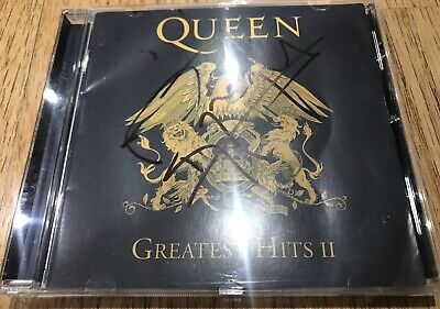 Roger Taylor SIGNED Queen Greatest Hits II CD Album Autograph New Good Condition