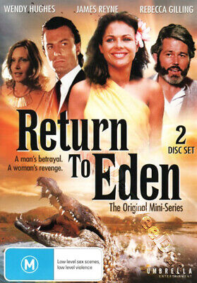 Return to Eden - Original Mini-Series NEW PAL Classic 2-DVD Set Rebecca Gilling