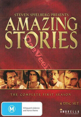 Amazing Stories (Complete Season 1) NEW PAL/NTSC Cult 4-DVD Set Steven Spielberg