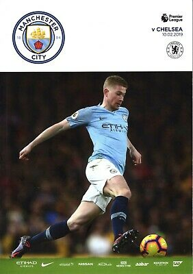 **MANCHESTER CITY v CHELSEA** PL - 10 DECEMBER 2019 - MINT GUARANTEED UNOPENED