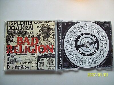 CD - BAD RELIGION - all ages - 1995