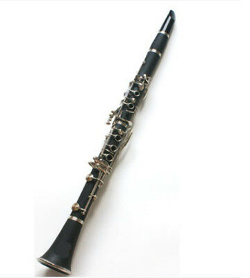 D10 17 Keys Bb Clarinet Black Musical Instrument With Case Accessories O