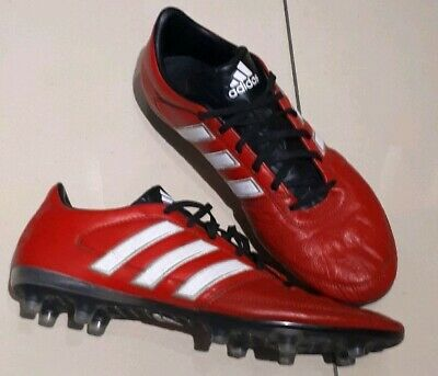 fac9d6a044 ADIDAS GLORO FOOTBALL Boots Leather AG Uk Size 10 Red - £4.10 ...