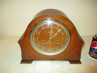 Vintage Enfield Striking Mantle Clock ( Working )