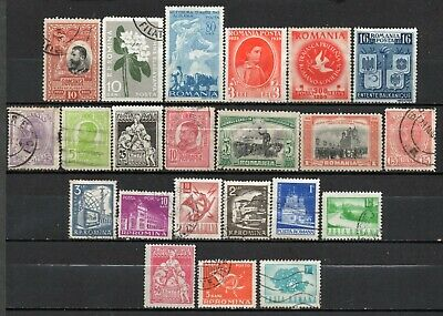 Romania very nice mixed era  collection ,stamps as per scan(6382)