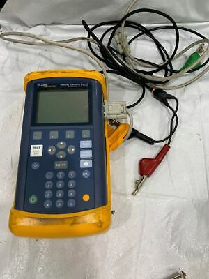 Fluke Networks 990Dsl Copperpro Series Ii Tester W/ Case +Cable