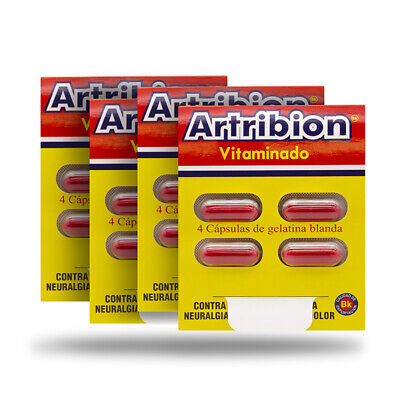 Artribion Vitaminado 4 Sobres- Sin Caja / 4 Pck With No Box