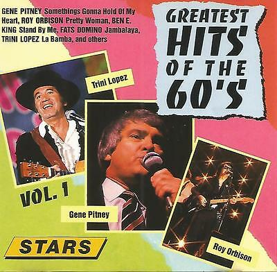 Greatest Hits Of The 60's CD Various Artists Roy Orbison Fats Domino Ben E King