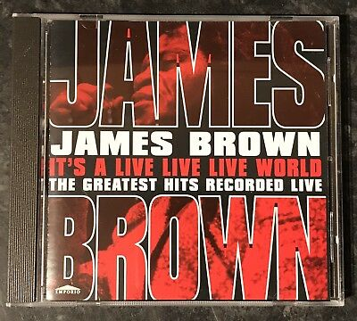 James Brown Greatest Hits Recorded Live Music Cd Good As New Free Post
