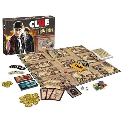 USAopoly NEW * Harry Potter Clue * Board Game Mystery Sealed Hogwarts Wizard NIB