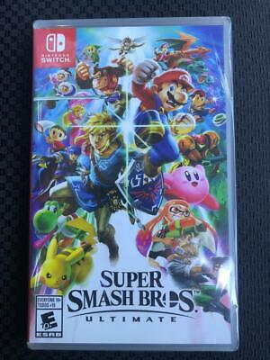 Super Smash Bros. Ultimate for Nintendo Switch Brand New SEALED