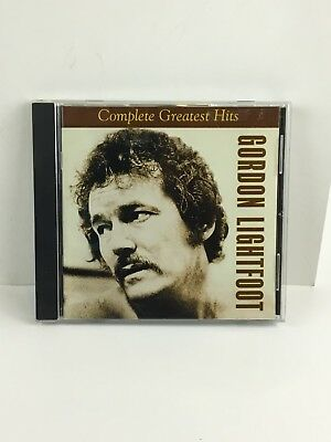 Gordon Lightfoot Complete Greatest Hits 2002 20 Tracks Music Album CD Collection