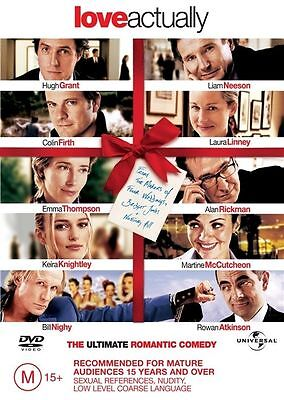 Love Actually (DVD, 2004) Huge Grant Colin Firth Pal Region 2-4 🇦🇺 Free Post