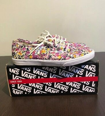 75dd65fe213a VANS WOMEN S AUTHENTIC Lo Pro Skateboarding Shoes Jacaranda True ...