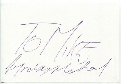 Movies 1946 Peter Donald Vintage Original Signature Autograph Paper A199 Autographs-original