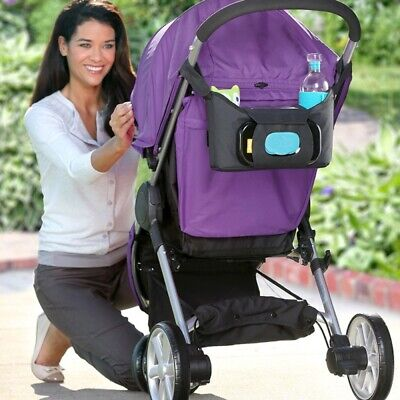 New Brica Stroller Organiser Cup Holder Free Express Shipping