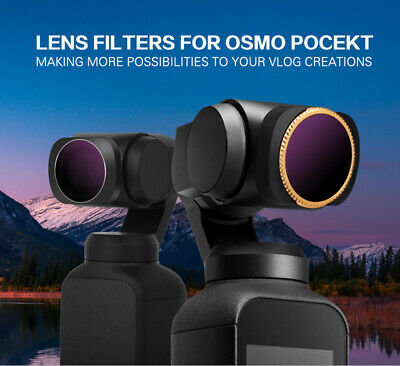 ND4//ND8/ND16/ND32/ND64/ND-PL/MCUV/CPL Camera Lens Filters For DJI OSMO POCKET