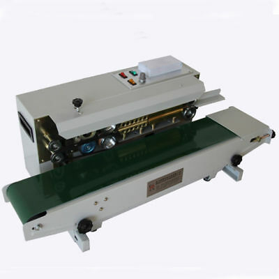 220V Automatic Bag Sealing Machine Continuous Horizontal Sealer 500W Updated