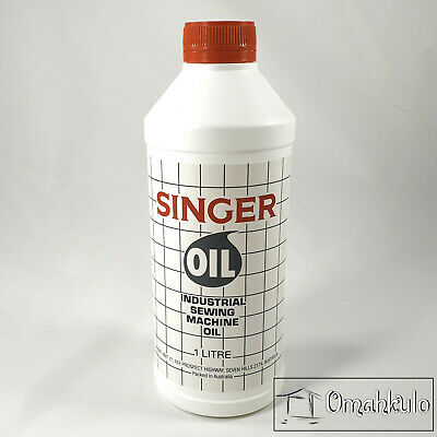 SINGER - Industrial Sewing Machine Oil - 1 Litre Bottle