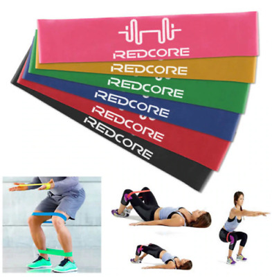 6 in 1 Resistance Loop Exercise Yoga Bands Workout Fitness Training CrossFit