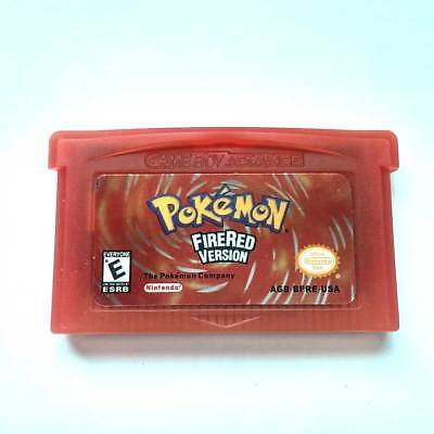 Pokemon:Fire Red - Pocket Monster Gameboy Game Cartridge for NDSL NDS GBM GBA SP