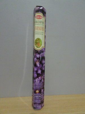 Precious Lavender Incense  1 Pack x 20 Sticks  HEM Hex   Free Post AU