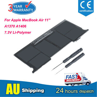 """Battery for Apple MacBook Air 11"""" inch A1370 mid-2011 A1465 mid-2013 A1406 A1495"""