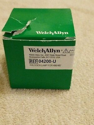 Welch Allyn Halogen Replacement Lamp For 486/487 (04200-U)