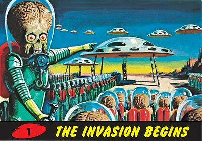 Mars Attacks! Heritage 2012 80 Cards 1-55 +1-10 +1-15 Subsets/wrapper/poster