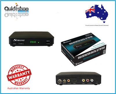 Strong SRT5434 HD Digital Set Top Box USB Record and Playback