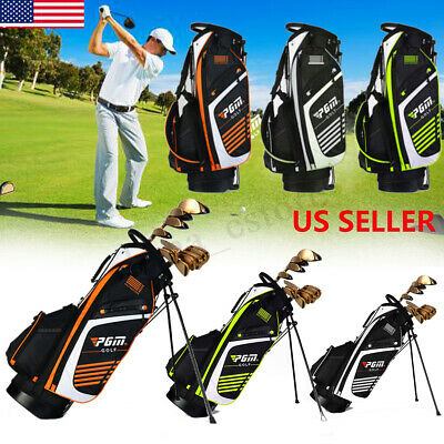 Golf Cart Bag 14 Way Full Length Divider Multi Pockets (1 beverage cool)