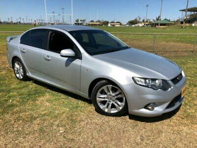 2011 Ford Falcon FG Upgrade XR6 Silver Automatic 6sp A Sedan