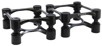 IsoAcoustics Aperta 100 Speaker Isolation Stands (Pair), Black