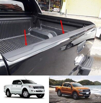 Back Rear Tailgate Cover Trim Ford Ranger T6 T7 Px1 Px2 Px3 Wildtrak 2012-2019