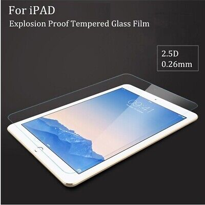 """For iPad Pro 9.7"""" 6th 5th Gen Air 1st 2 Premium Tempered Glass Screen Protector"""