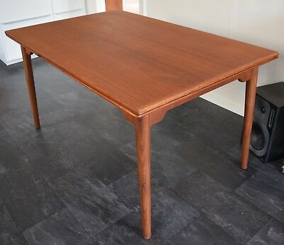 Danish Mid-Century Teak Dining Table, 1960's.