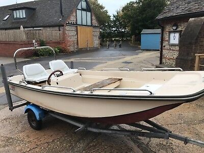 Dell Quay Dory 13 with trailer - no engine - Project
