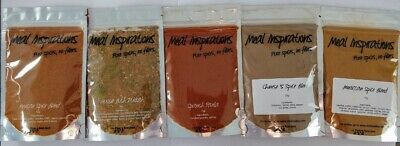 SPICES BLENDS - Southern Fried Chicken, BBQ Ribs, Chai, Herbs, Mixed Spice 70g