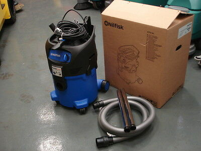 Brand new Nilfisk Alto wet and dry 30L vacuum cleaner/hoover - 150W