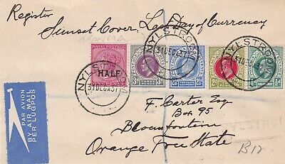 Natal an attractive multi franking cover