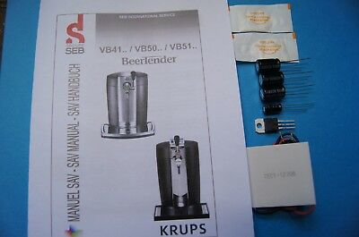 Fix Kit reparation Krups Beertender B85 VB5020 VB5120  Peltier TEC1-12706