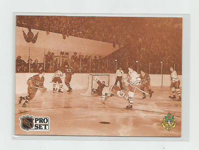 "Bill Barilko 1991-92 Pro Set ""end Of Innocence"" Rookie French Hockey Card #340"
